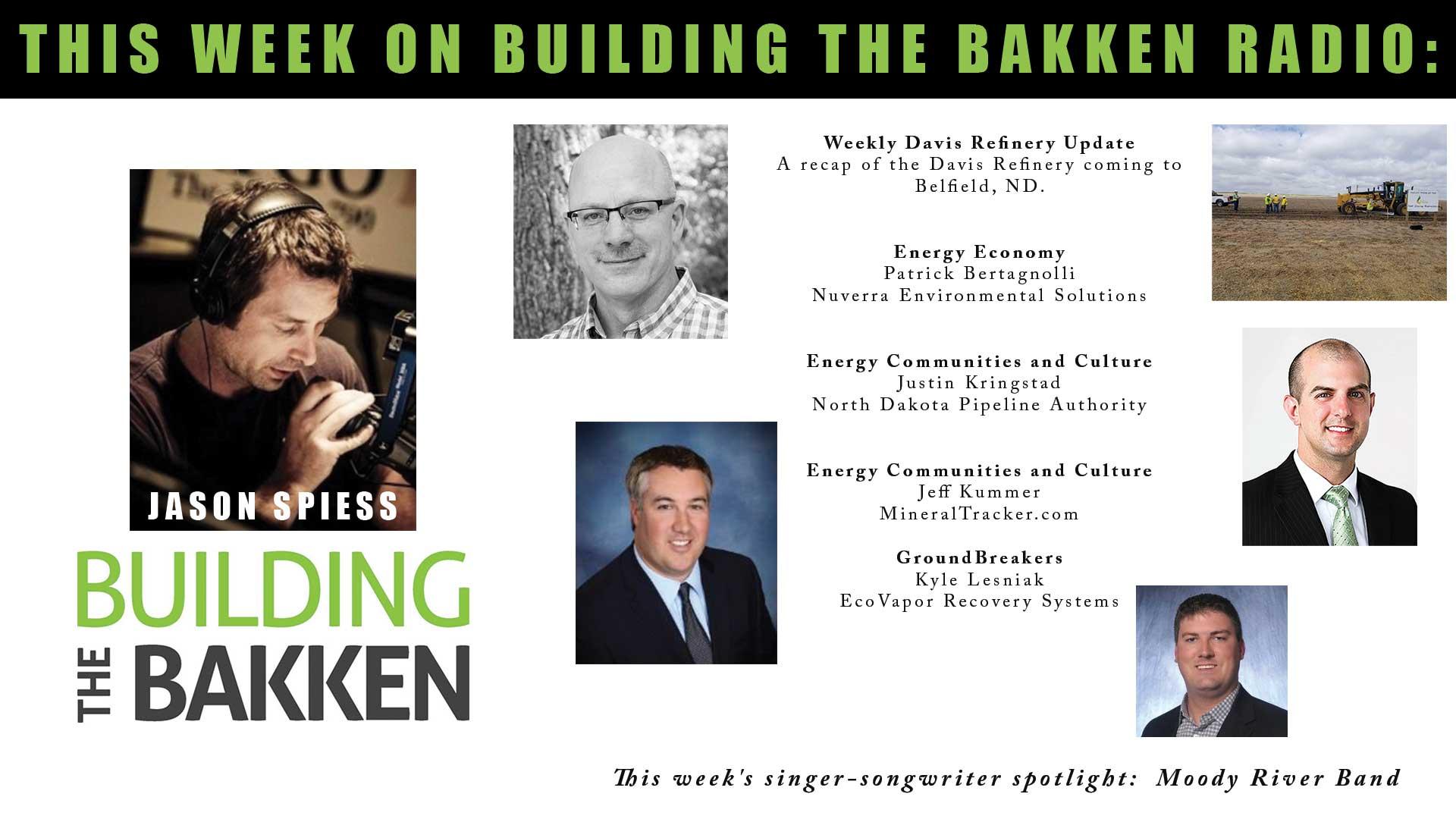 Building the Bakken Radio Episode 272: Minerals, Pipelines
